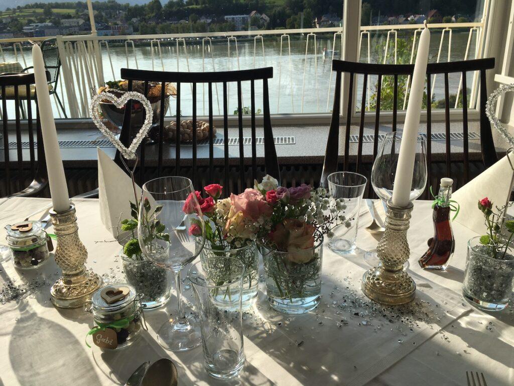 Hochzeitsfeier im Faustschlössl an der Donau